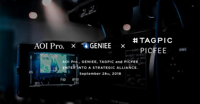 AOI Pro.、ジーニー、タグピク、ピクフィーの4社が業務提携、動画配信 ...